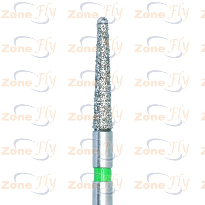 Dental Burs conical with ball, side cutting